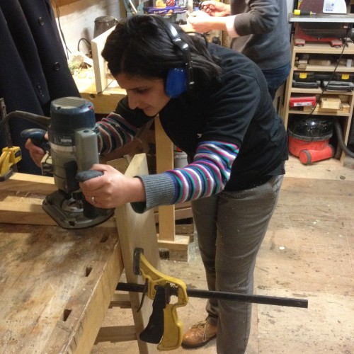 Learning to use power tools